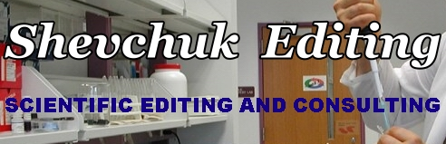 Shevchuk Editing: scientific editing and consulting